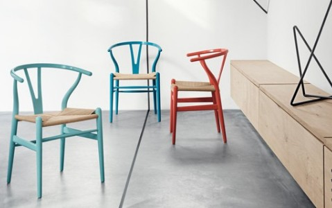 Le Wishbone Chairs di Carl Hansen & Søn