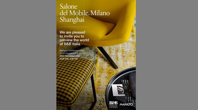 B b italia e maxalto al salone del mobile milano shanghai - Outlet del mobile milano ...